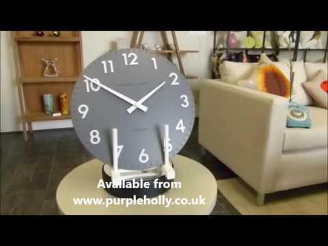 Thomas kent mantel clock pink