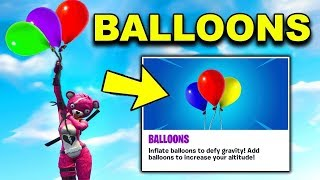 BRAND NEW FORNITE BALLOON! I'M A PRO! FORTNITE DUOS WITH ITSYEBOI