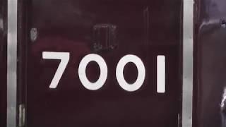 【7001Fの日‼ハロゲン時代...今北代走‼】阪急7000系7001F 普通西宮北口行き 宝塚発車