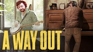 LIVING THE FUGITIVE LIFE! | A Way Out w/ Ze & Tom #2