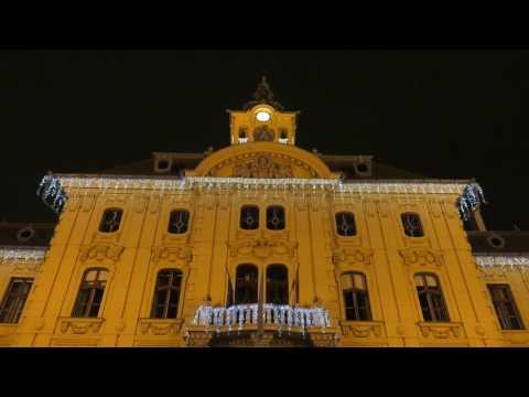 Szeged by night