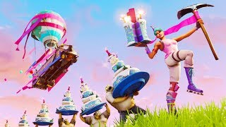 Fortnite's 1st Birthday Celebration | *NEW* SKIN + BACKBLING! (Release Date Confirmed!)