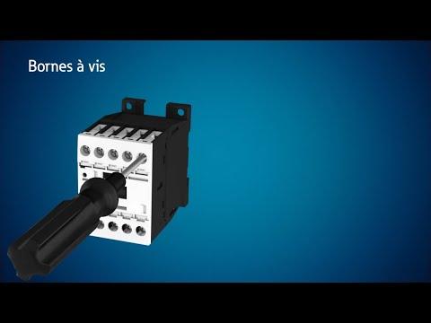 Contacteurs DIL et disjoncteurs-moteur PKZ/PKE avec bornes à ressort