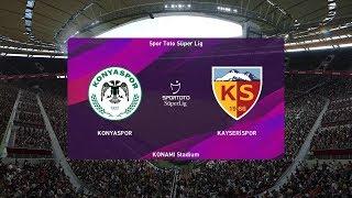 PES 2020   Konyaspor vs Kayserispor - Turkey Super Lig   29 September 2019   Full Gameplay HD