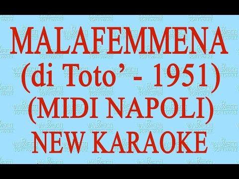 Malafemmena  - midi Napoli - New Karaoke