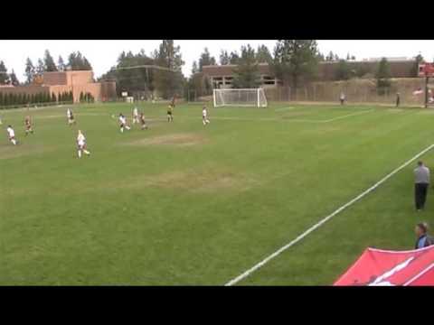 University of Montana soccer 2012 part 1