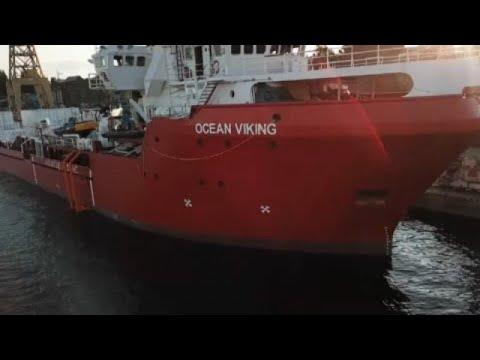Ocean Viking en aide aux migrants