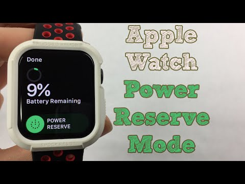 Apple Watch | Power Reserve Mode