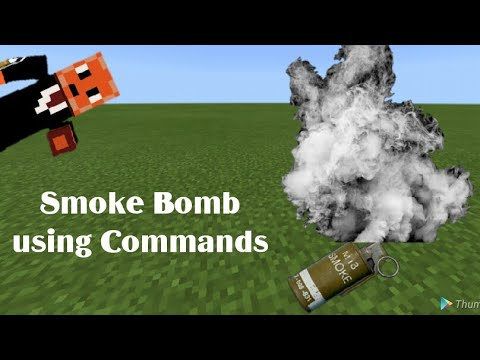 ✔️-smoke-bomb-|-mcpe-command-block-creation