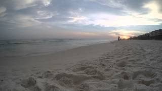 Sunset Time Lapse in Rosemary Beach, Florida