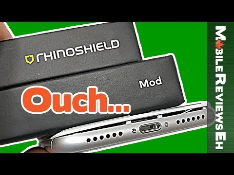 This is ONE TOUGH CASE for the iPhone X - The Ultimate Rhinoshield MOD Review