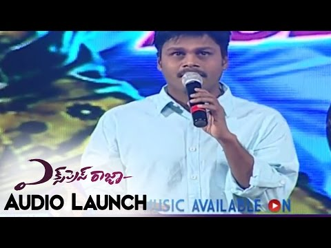 Sapthagiri Comedy Speech At Express Raja Audio Launch || Sharvanand,Surabhi