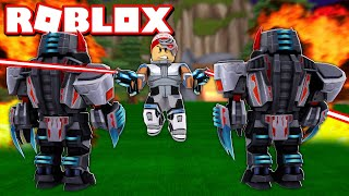 BUILDING a FUTURISTIC BASE OF $1 million at ROBLOX → Cybernetic Tycoon 🎮