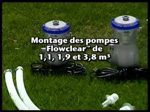 Piscine bestway 04 montage et entretien filtration youtube for Montage piscine