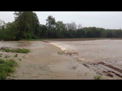 Hochwasser in Kaindorf/Sulm 2016