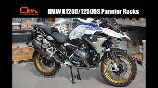 BMW R1200/1250GS Pannier Racks Installation