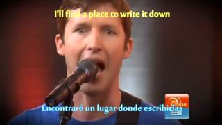Postcards - James Blunt (Lyrics + Sub Español)