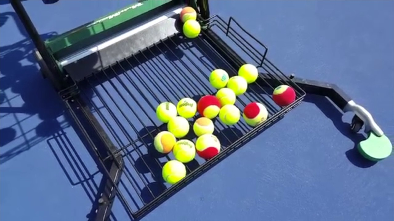 How to Pick up Tennis Balls the Easy Way!