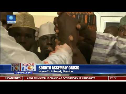 Sokoto Assembly Crisis: House In A Rowdy Session