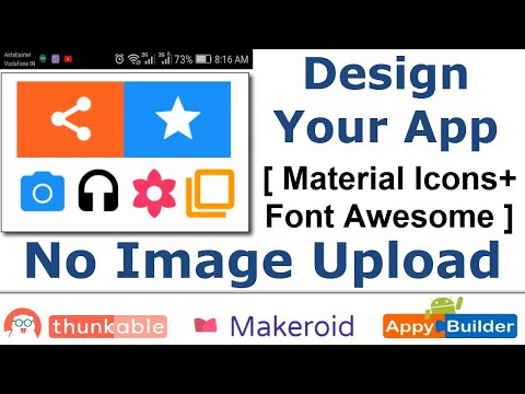 Design Your Android App Using FontAwesome And Material Icons (Download Icon Fonts)