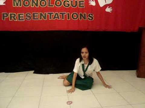 ITAY  (a dramatic monologue) by VINA M. ABRAJANO