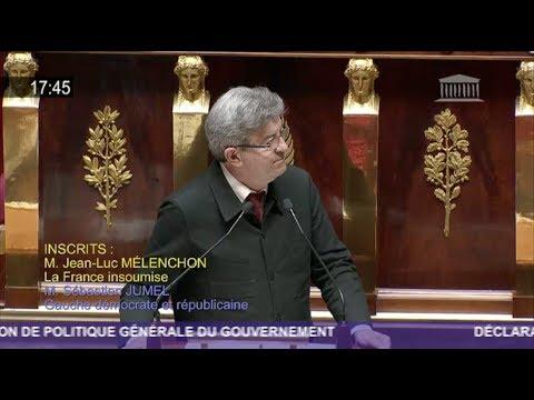 NOUS SOMMES L'ALTERNATIVE À VOTRE MONDE - J.-L. Mélenchon répond à E. Philippe