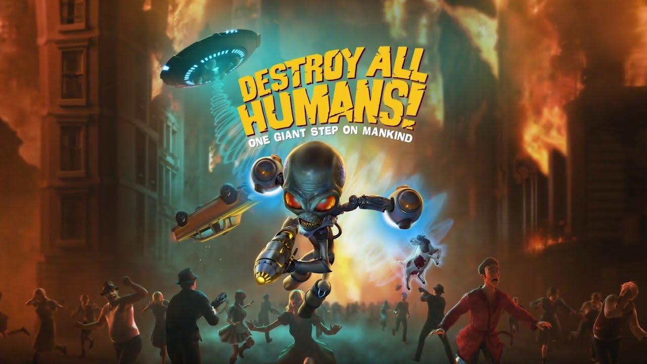『Destroy All Humans!(デストロイ オール ヒューマンズ!)』紹介動画