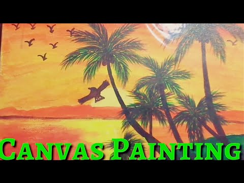 Canvas Painting, Knife Painting, Spray Painting, Glass Painting, etc | All types of Paintings