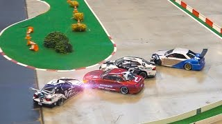 BEST CRASH EPISODES!! RC DRIFT CAR RACE MODELS IN ACTION
