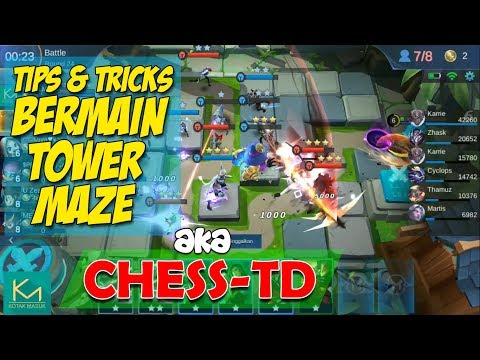 Tips Dan Tricks Cara Bermain Tower Maze/Chess-TD | Mobile Legends New Mode