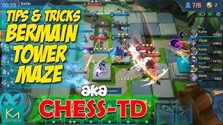 Tips dan Tricks Cara Bermain Tower Maze/Chess-TD   Mobile Legends New Mode