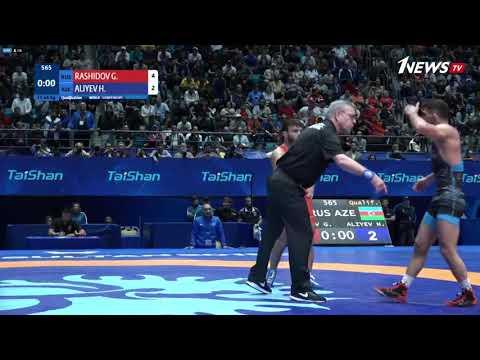 Гаджи Алиев уступил на старте чемпионата мира и едва не подрался с судьями
