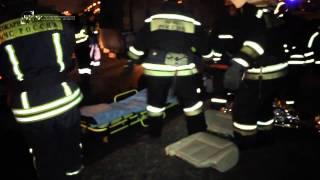 Иномарка врезалась в столб на улице Подольских Курсантов 2 пострадавших 24 11 14