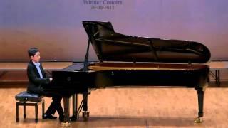 少年鋼琴組冠軍 - 廖天駒