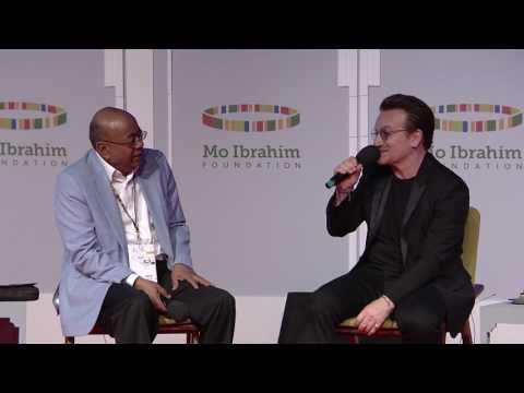 Mo Ibrahim in Conversation with Bono