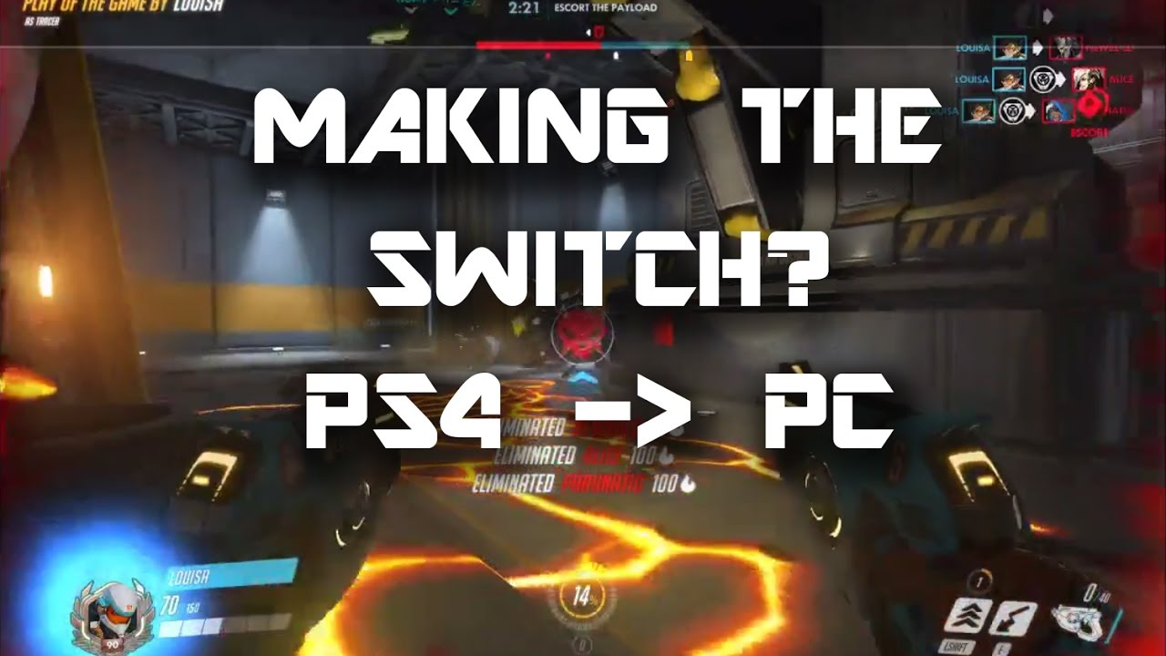 Overwatch: Making the switch from PS4 to PC