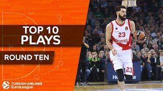 Top 10 Plays  - Turkish Airlines EuroLeague Regular Season Round 10
