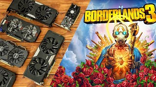 Borderlands 3 Benchmarks with Budget Graphics Cards