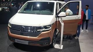 Volkswagen Multivan 2019 T6.1  Первый обзор