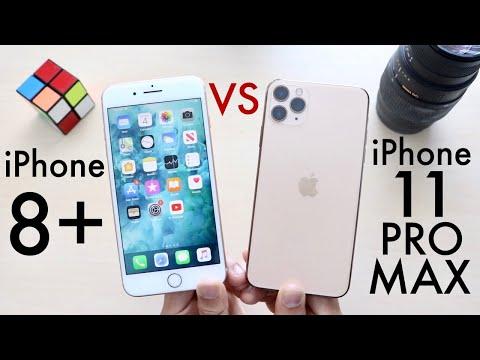 iPhone 11 Pro Max Vs iPhone 8 Plus! (Comparison) (Review)