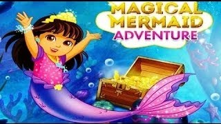 Dora and friends Magical Mermaid Adventure | Cartoons for children 2015