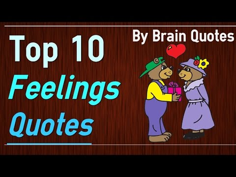 Top Feelings Quotes