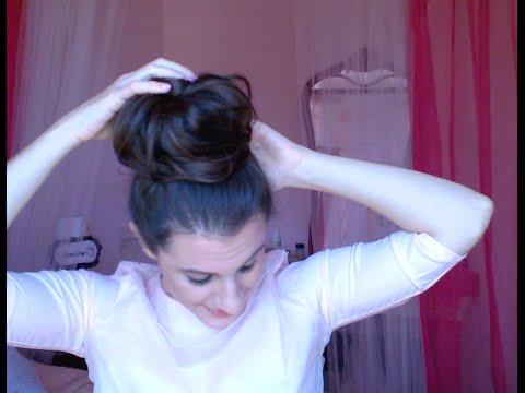 Hair tutorial: Come si usa la ciambella per fare lo chignon