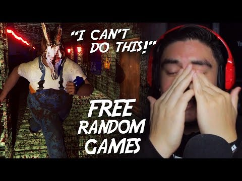I ALMOST QUIT THIS GAME CAUSE IT WAS THAT SCARY | Free Random Games