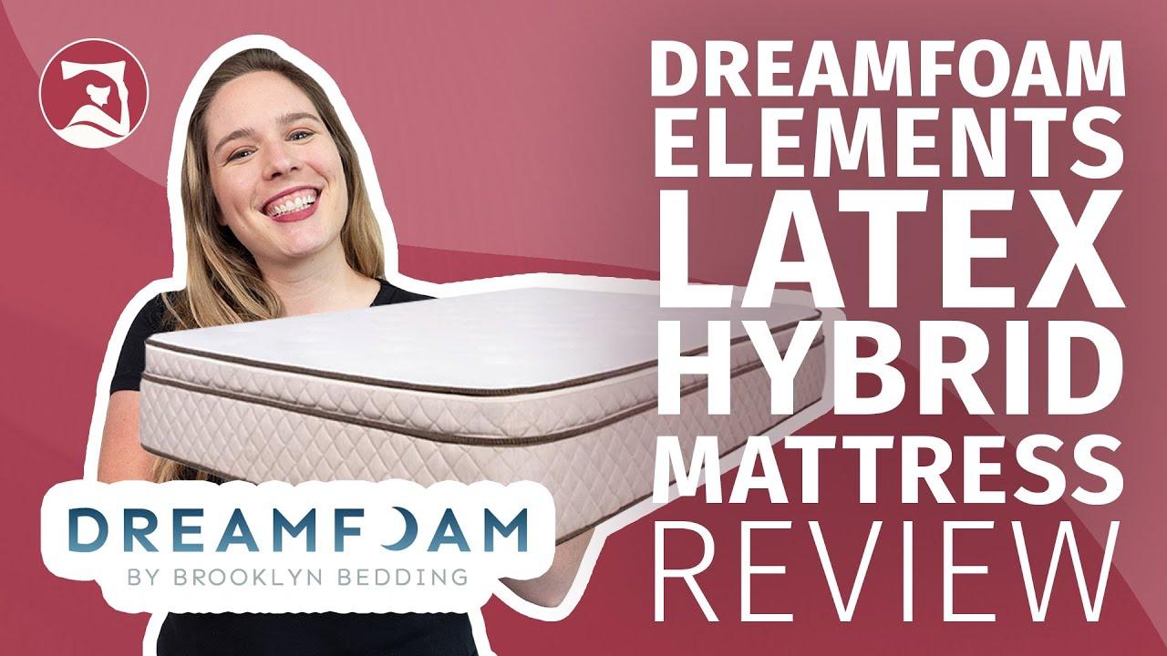 Dreamfoam Elements Latex Hybrid  - The Best Affordable Latex Mattress? (UPDATED)