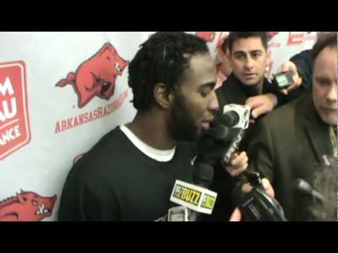 Joe Adams postgame 11-12-11