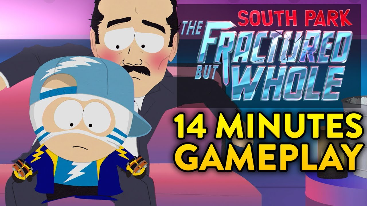 E3 2017: South Park: The Fractured But Whole is Cruder and