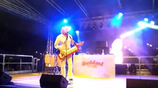 Notte bianca Gardaland 2015 Sandy Marton