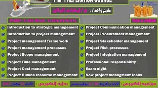 PMP Preperation Course | Aldarayn Academy | Lec 10