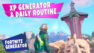 FORTNITE XP Generator and Daily Routine Tutorial